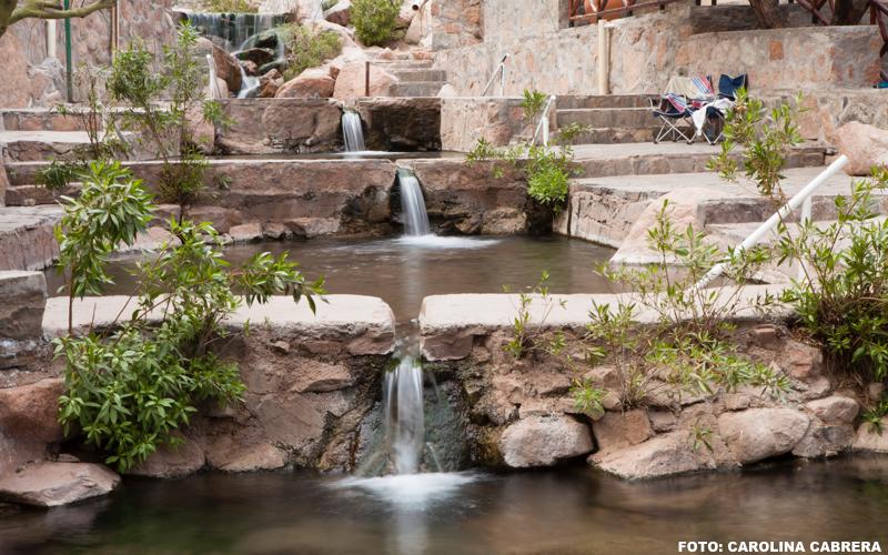 aguas termales, termas de fiambalá, catamarca, argentina