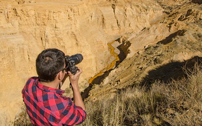 cañón del ocre, la rioja