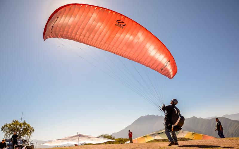 parapente, circuito turistico, cerro morro, la rioja, argentina