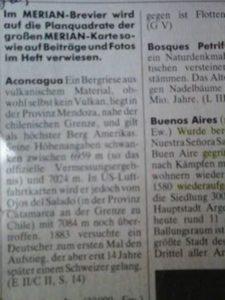 Artículo revista alemana